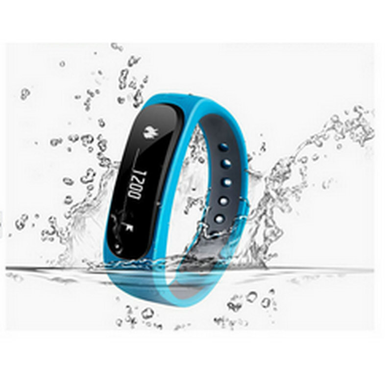 Waterproof Bluetooth 4 0 Smart Wristband Sports Band E02 For IOS And Android System