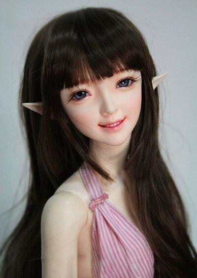 1/12 scale nude BJD Cute kid elf SD Joint doll Resin model