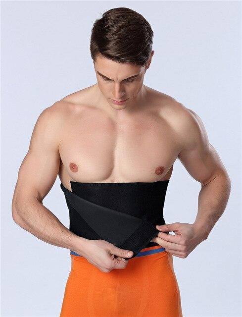Slimming Belly Belt PRAYGER Sauna Sweat Shaper Neoprene Waist Cinchers Men Control TummyTrimmer Band Big Belly Girdle 3