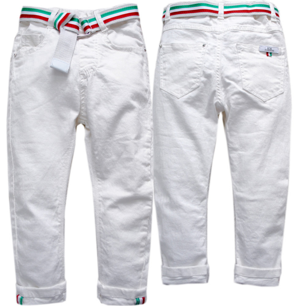 3810 Kids Jeans Child Pants Casual Pants Trousers Spring Autumn Elastic Waist Boys Jeans Boys Spring