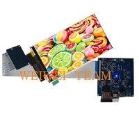 Интерфейс Mipi 2160x3840 UHD 5,5 дюймов 4 К ЖК панель модуль + MIPI HDMI платы контроллера для 3d принтер diy проект
