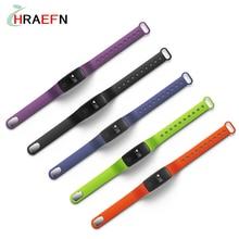 Hraefn умный Браслет V05 Bluetooth smart Сердечного ритма Мониторы браслет Фитнес трекер для андроид IOS Телефон PK ID107 ID101
