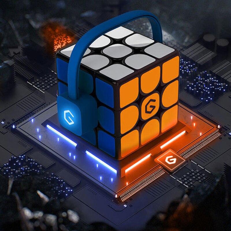 цена [Update Version ] Original Xiaomi Giiker i3s AI Intelligent Super Cube Smart Magic Magnetic Bluetooth APP Sync Puzzle Toys