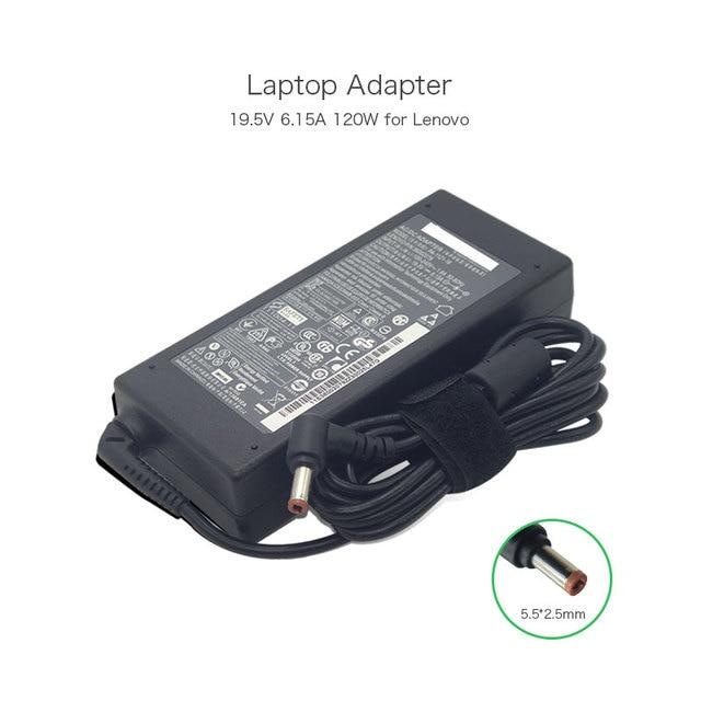 New Original 19.5V 6.15A 120W Laptop Charger for Lenovo IdeaPad Y500 Y470 Y460P Y570 Y560 Y580 PA-1121-16 36002079 AC Adapters
