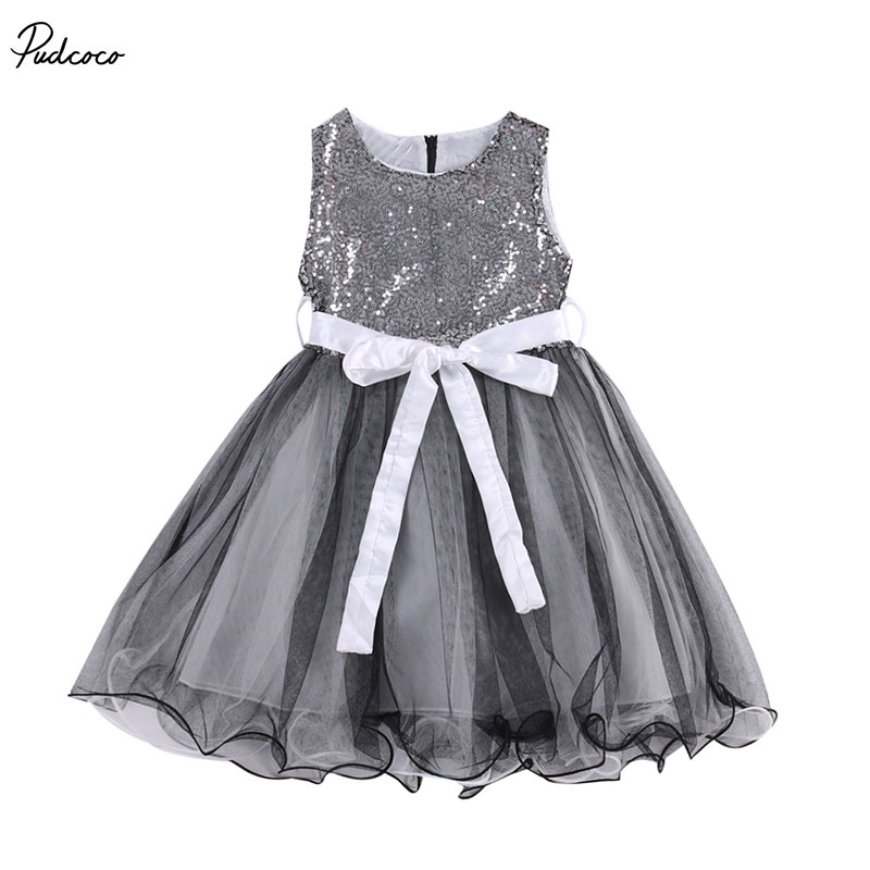 Baby Girl Dress,Girls Sequins Dresses,Party Gown Bridesmaid Wedding Tulle Tutu Bow Dresses 1-7Y  new hot sequins baby girls dress party gown tulle tutu bow heart shape dresses bridesmaid evening cute children dress