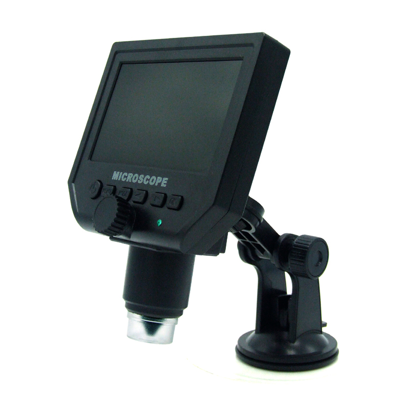 1-600X Portable LCD Digital Microscope G600 With 4.3 HD OLED Screen for pcb motherboard repair lcd 32e9bd motherboard 40 00ms68 mae2xg with 320ap09 screen