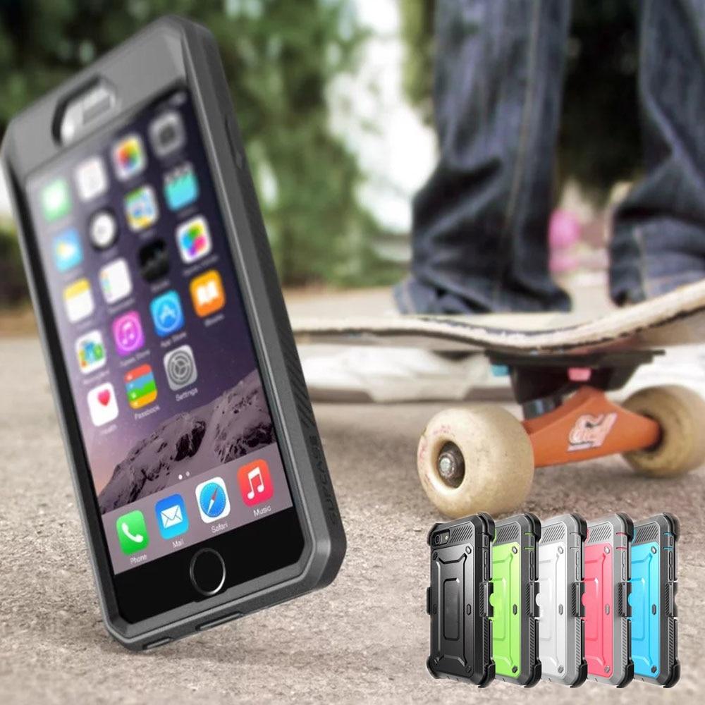 bilder für Premium Hybrid Heavy Duty Stoßfest Defender Clip Fall Abdeckung Für Apple iPhone 7/7 Plus 6 6 s Plus Capa Fundas