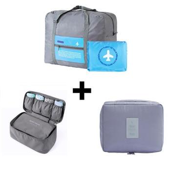 2018 Travel Organizer Make up Bag  Luggage Storage Case Bra Underwear Pouch Drawer Dividers Container Women Travel Luggage Bags Travel Bags & Luggage