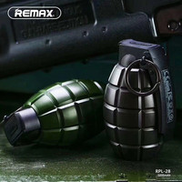 Remax 5000mah Grenade Design Power Bank USB Charger External Battery Portable Mobile For IPhone Mobile Phones
