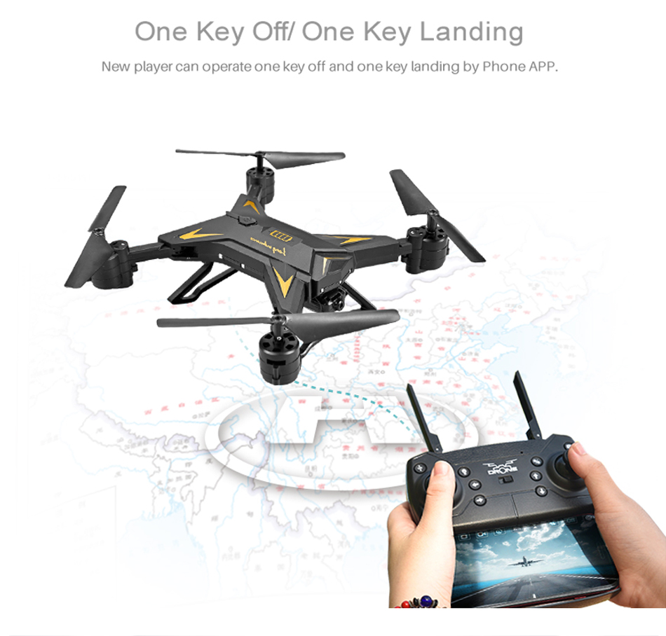 RC Helicopter KY601S Professional Drone with Camera HD 1080P WIFI FPV Quadcopter Drone Toys for Kids 15 Minutes Playing Time 12