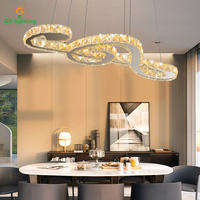 [GY Освещение] светодиодный подвесные светильники кристалл hanglamp Примечание Подвеска светильник для столовая кухня гостиная лампы