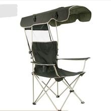 Пляжное Кресло, уличная мебель садовая мебель, стул для кемпинга, Камп сандалеси, складной зонт, рыболовное кресло Оксфорд+ стальная трубка