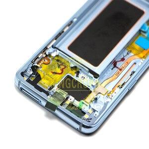 Image 5 - Pour Samsung S8 LCD avec remplacement de cadre pour SAMSUNG Galaxy S8 Plus LCD G955 S8 G950 G950F affichage lcd écran tactile numériseur
