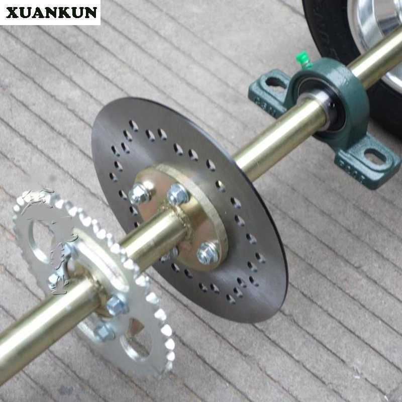 Xuankun Modification Drift Three Round Kart Rear Axle Four