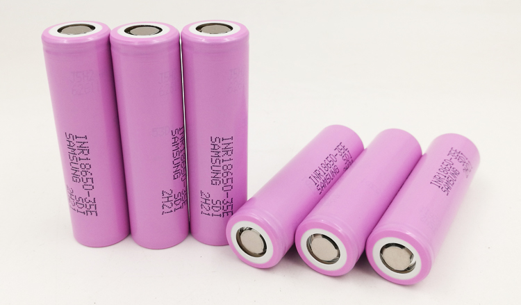 3 CPS varicore 35E original 18650 batería de litio 3500 mAh 3.7 V 25A alta potencia INR18650 35E para Samsung