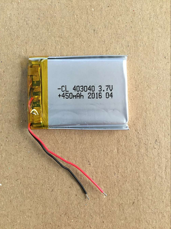 <font><b>3.7v</b></font> li po li-ion batteries lithium polymer battery 3 7 v lipo li ion rechargeable lithium-ion for DVR d600/S D660 <font><b>403040</b></font> 450MAH image
