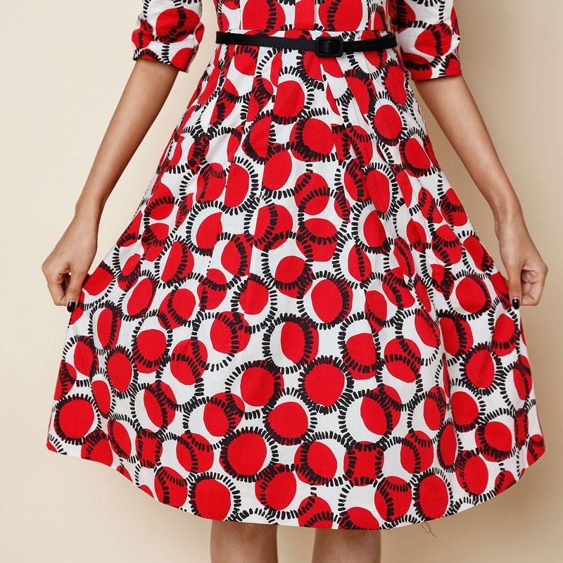 Rote punkte kleider