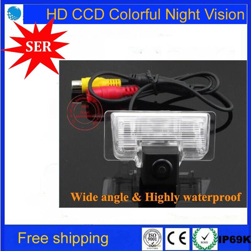 imágenes para CCD HD cámara de visión trasera Del Revés Del Coche cámara de Aparcamiento Para Nissan Teana Sylphy TIIDA Almera Altima 2013 cámara del estacionamiento del coche de color