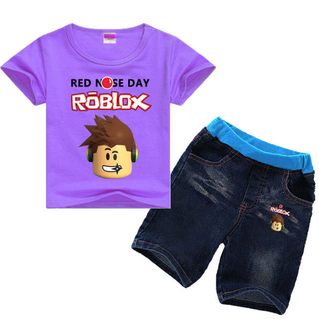 1d86fbac1 2 8Years Nununu 2018 Kids Girls Clothes Set Roblox Costume Toddler ...