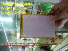 De Íon Frete Grátis 35100145 Bateria de Polímero Íon Lítio 3.7 V 5500 Mah CE Fcc Rohs Msds Certificação Qualidade
