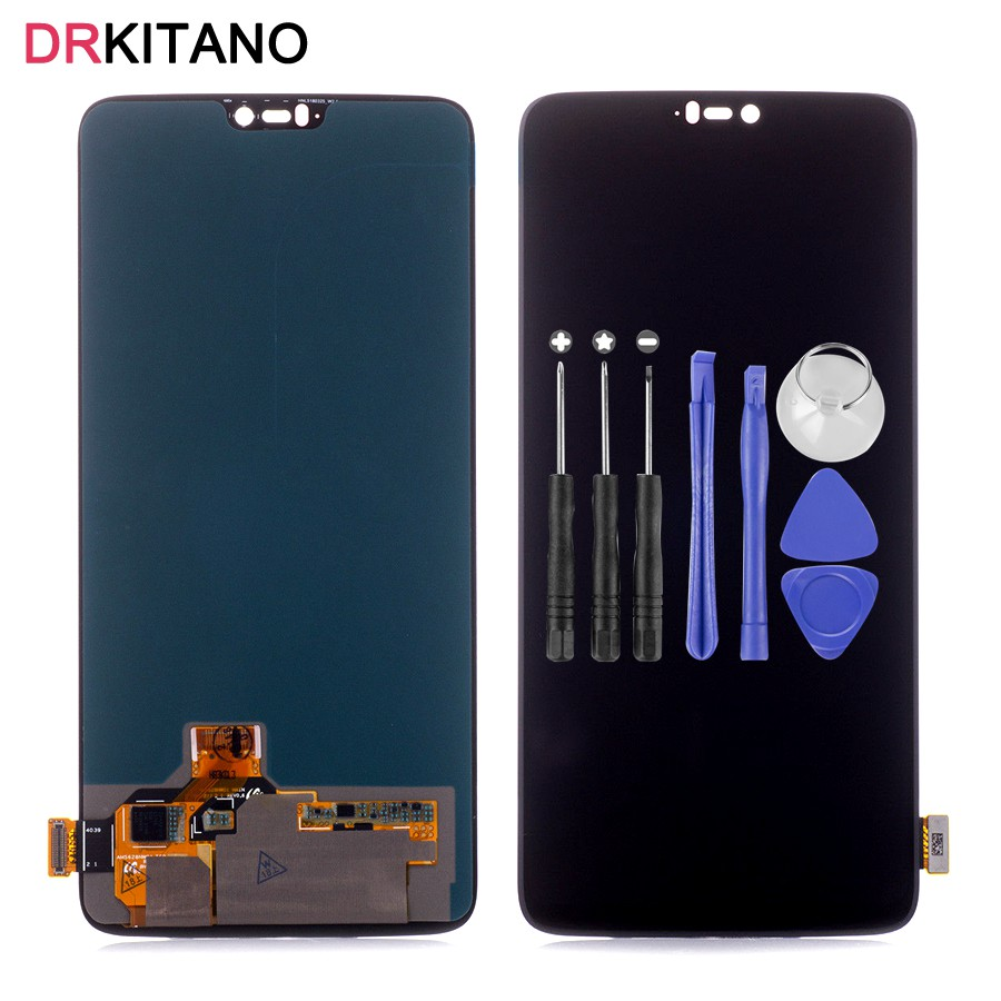 Oneplus 6 LCD Display Touch Screen Digitizer Assembly OnePlus 6 LCD With Frame OnePlus6 Screen Replacement