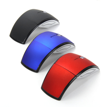 Foldable 2.4GHz Wireless Mouse mouse for the PC computer mouse Foldable Folding Mouse/Mice + USB 2.0 Receiver For PC Laptop