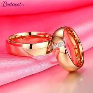 Beiliwol Wedding Rings for Women Men Engagement Jewelry