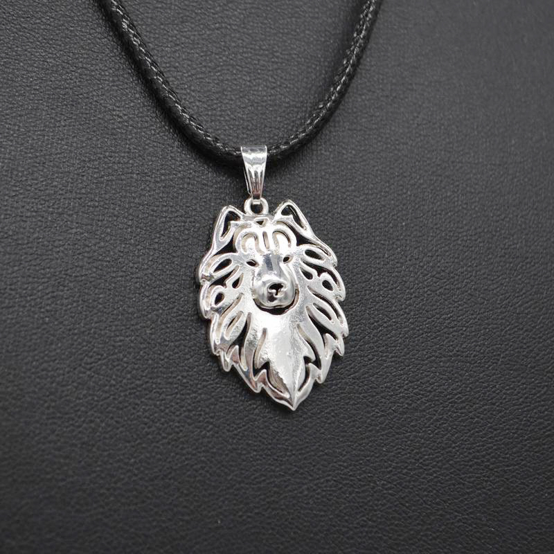 2018 Hot Sale Rope Chain Metal Alloy Pet Pendant Necklaces Women Jewelry Samoyed Dog Necklaces Drop Shipping