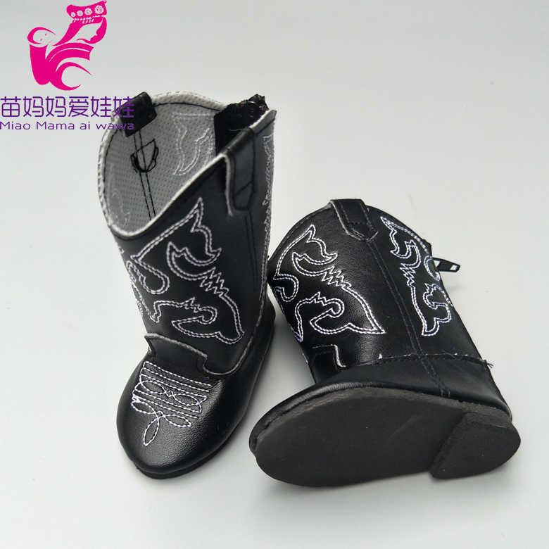 18 inç bebek ayakkabıları 43cm yeni doğan bebek bebek botları kışlık botlar bebek bebek yüksek üstleri 18 inç kız bebek botları