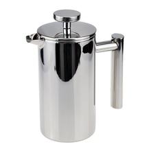 350 ml Edelstahl Doppelwand Isoliert Kaffee Tee Französisch Presse Percolators Mit Filter