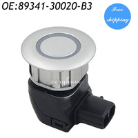 PDC Parking Distance Control Sensor For Toyota Crown Majesta Lexus IS250 IS350 GS300 Silver 89341 30020 B3 89341 30020