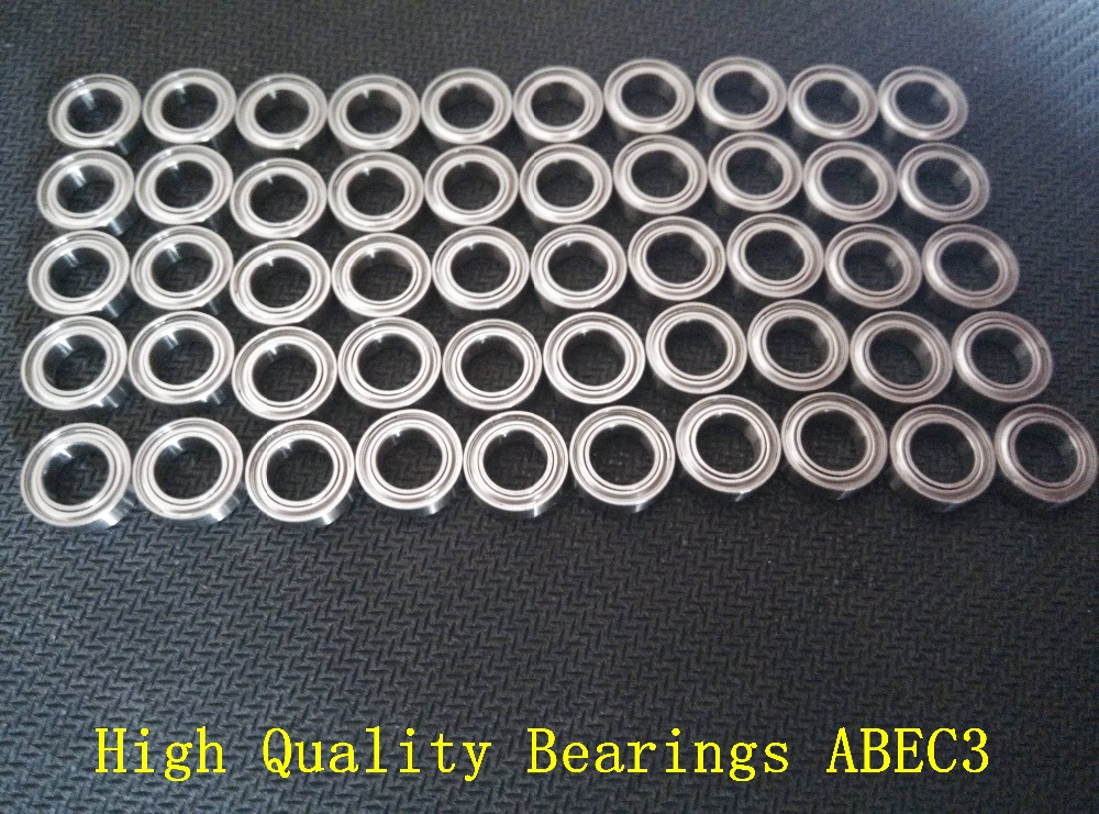 Free shipping 50PCS SMR138 ZZ ABEC3 8x13x4mm Stainless steel bearings