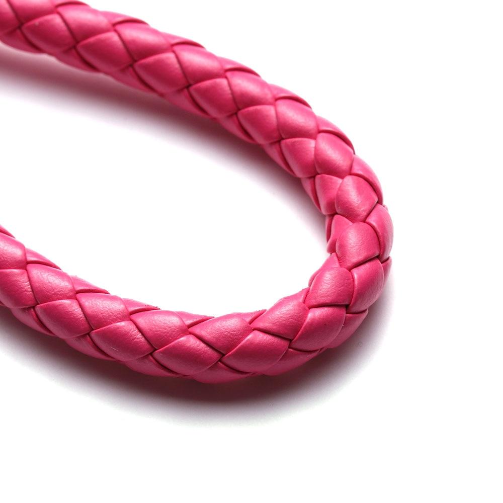 13 цветов ручной работы плетеная брелок для ключей кожаный брелок автомобильный брелок Прямая