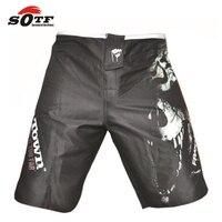 SOTF 2015 nowe MMA Muay Thai boxing boxeo walki mma kick boxing szorty spodenki pantalones pantalones wysokiej jakości Darmowe zakupy