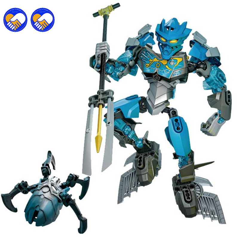 A toy A dream XSZ 707-3 Bionicle CALI master of water XSZ Building Block Bricks Toys Sets BABY TOYS Lepin Kazi Bela Sluban bionicle максилос и спинакс