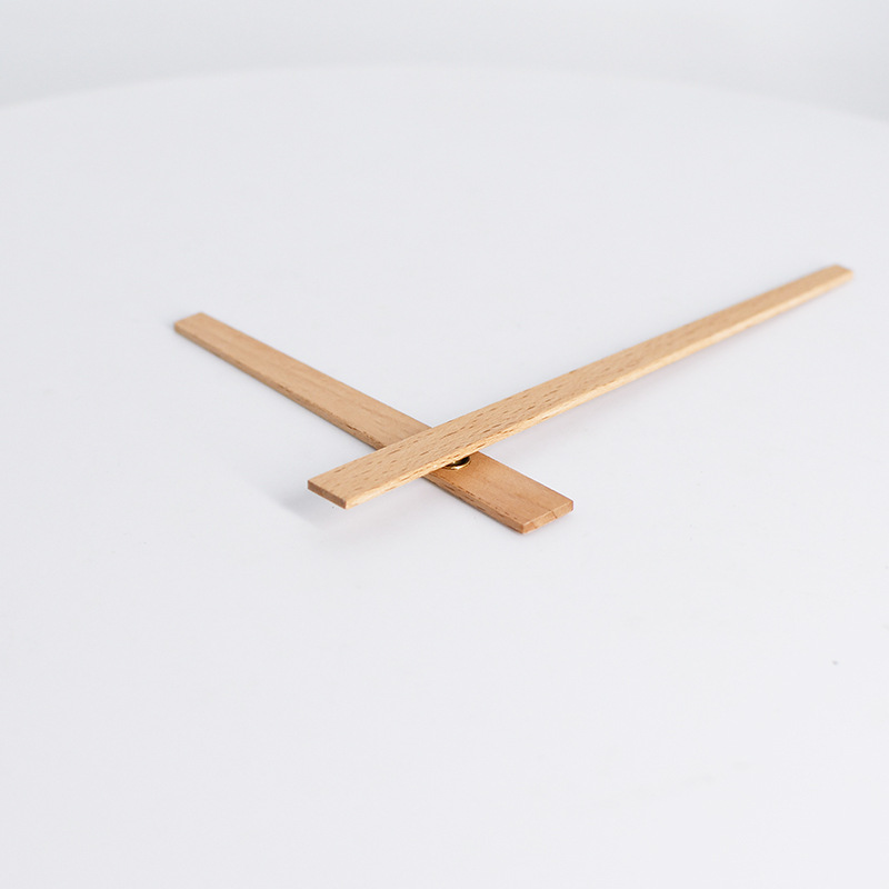 Wood Pointer Clock Parts Simple Diy Home Accessories 12 inch Solid High Quality