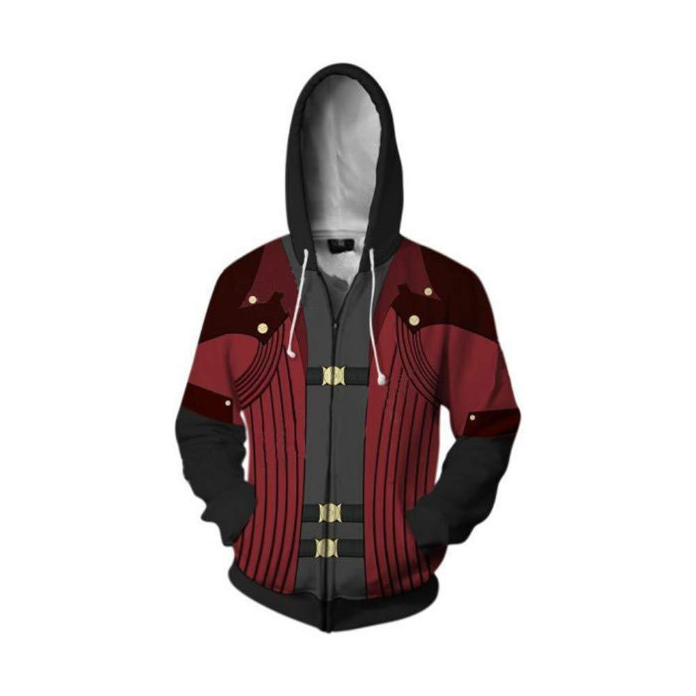 Game Devil May Cry Sweatshirts Hoodies Japan Anime Cosplay Costume Men Casual Hooded Clothing Top