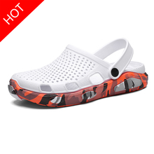 Homens tamancos sandálias plataforma chinelos sapatos masculinos sandalias verão sapatos de praia sandalen chinelos sandalet hombre sandali novo 2020