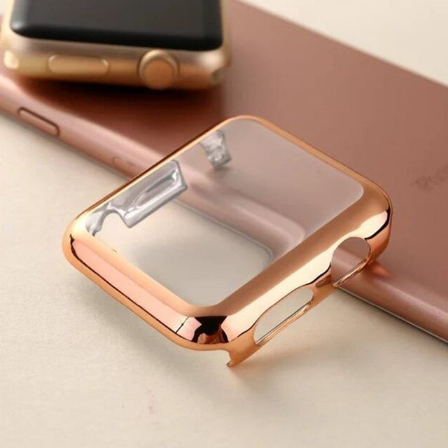 CRESTED cover For Apple Watch band 4 3 Case 42mm 38mm strap iwatch band 44mm/40mm protective screen protector watch Accessories 3