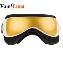 Masażer do oczu okulary z muzyką, ciśnieniem powietrza i wibracją grzejnik na podczerwień urządzenie do pielęgnacji oczu