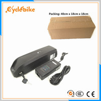 Free shipping downtube Samsung battery 36v 13ah lithium battery for electric bikes 500w 36v