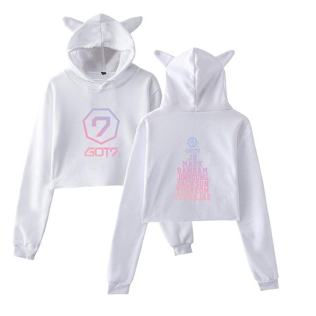 Cat Ears Sweatshirt Hoodies