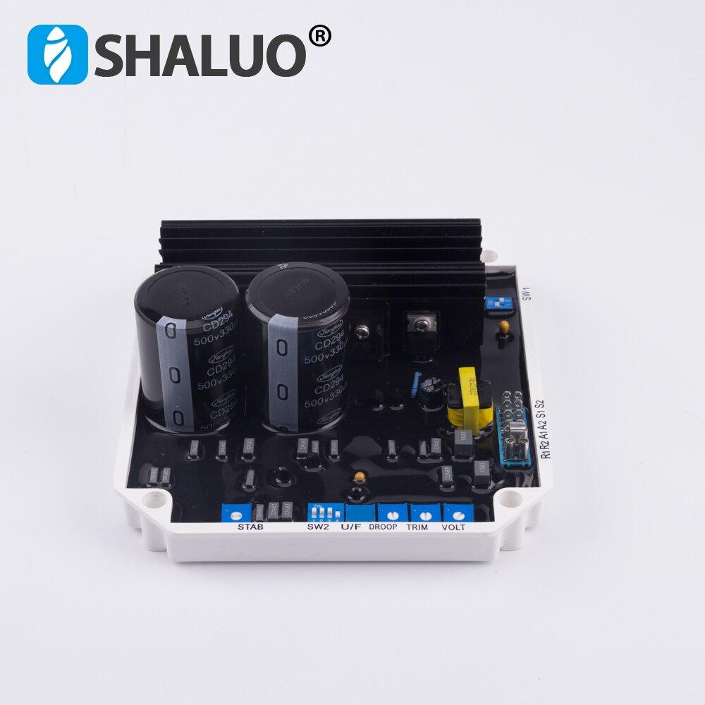 VR08 KF308A AVR Automatic Voltage Regulator brushless Powerly Generator Stabilizer Single Three Phase Adjuster