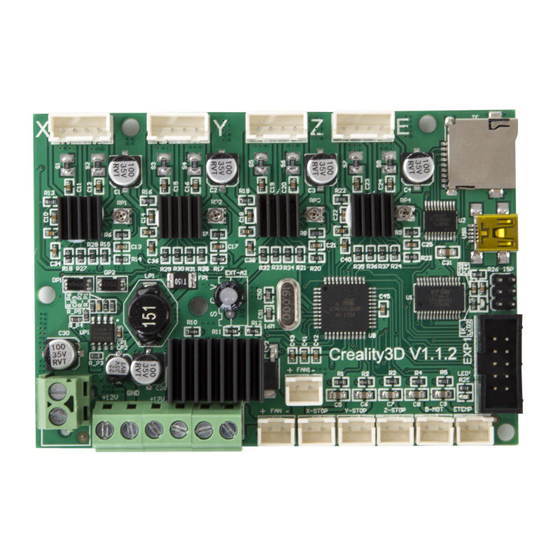creality motherboard controller board mainboard for. Black Bedroom Furniture Sets. Home Design Ideas