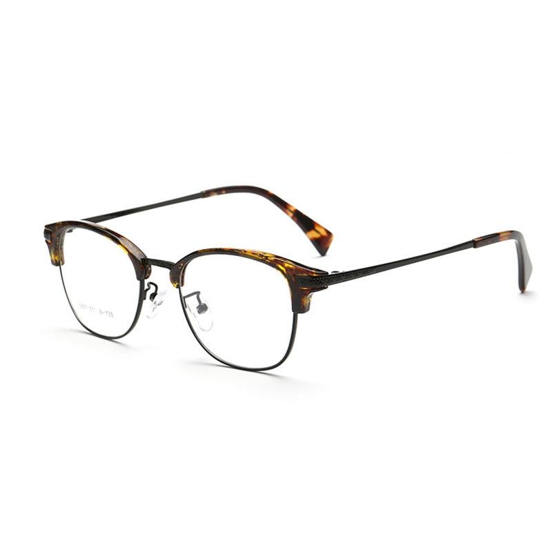 Browline Vollrand Optische Brillen Rahmen für Männer und Frauen ...