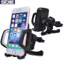 Stjie Универсальный держатель для автомобиля вентиляционное отверстие автомобилей Vent для мобильного телефона Smartphone Поддержка iPhone 5S 6 7 8 плюс Samsung S6 S7