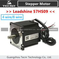 Leadshine 2 phase Stepper Motor 57HS09 NEMA23 with 0.9 Nm torque 4 lead 8 lead wires