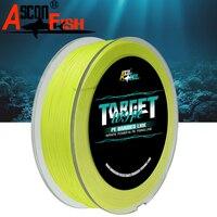 Ascon Fish 9 Strands Braided Fishing Line 500m Multifilament Fishing Line 9 Braid PE Rope Tippet