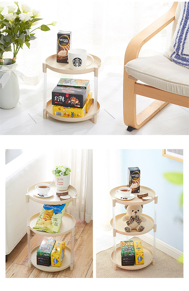 Round POTS multilayer e rack shelf be born kitchen mesa ... on