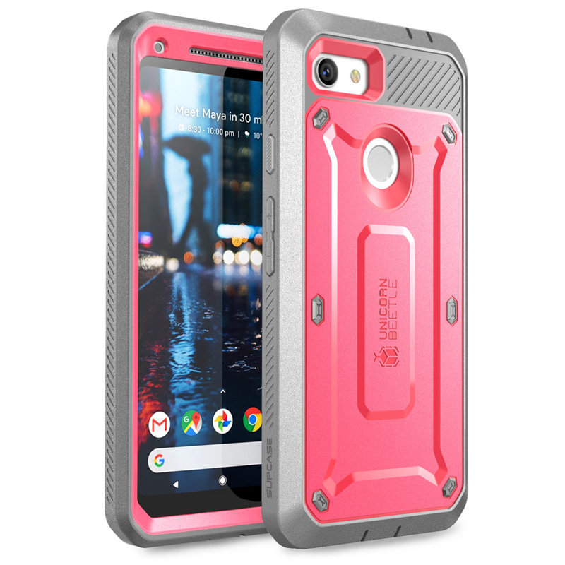 Image 3 - SUPCASE For Google Pixel 3a XL Case (2019) UB Pro Full Body Rugged Holster Protective Case Cover with Built in Screen ProtectorFitted Cases   -